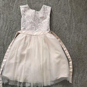 Rare editions girls dress Sz 14